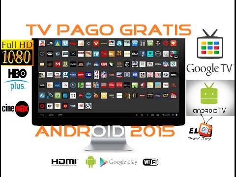 ►NUEVO◄ Ver TV Pago GRATIS ® en HD Android 2015 con YouPlayerPRO + canales activados