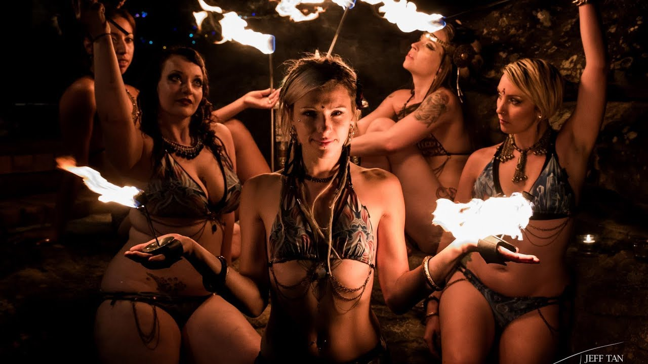 Wild Nudist Lesbo Lovers Doing Dancing Naked By The Fire