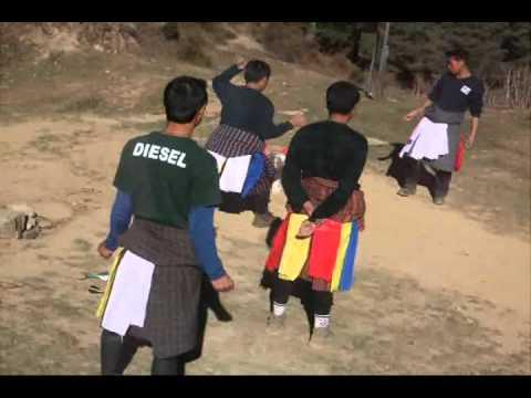 不丹射飛鏢比賽Khuru