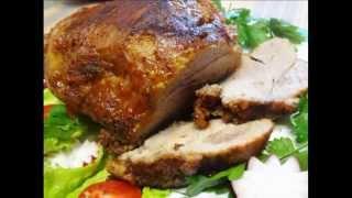 Домашние видео рецепты - свинина с айраном в мультиварке