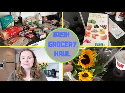 IRISH GROCERY HAUL || WEEKLY GROCERIES || DUNNES STORES