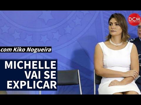 Michelle Bolsonaro sai da sombra e vai ter de explicar os cheques do Queiroz