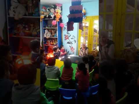 Music class in Manchester nursery