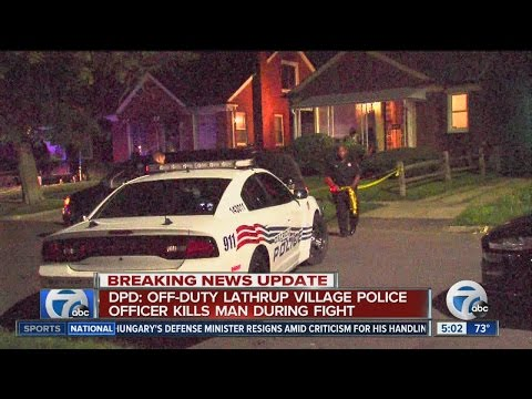 Lathrup Village cop arrested for deadly fight
