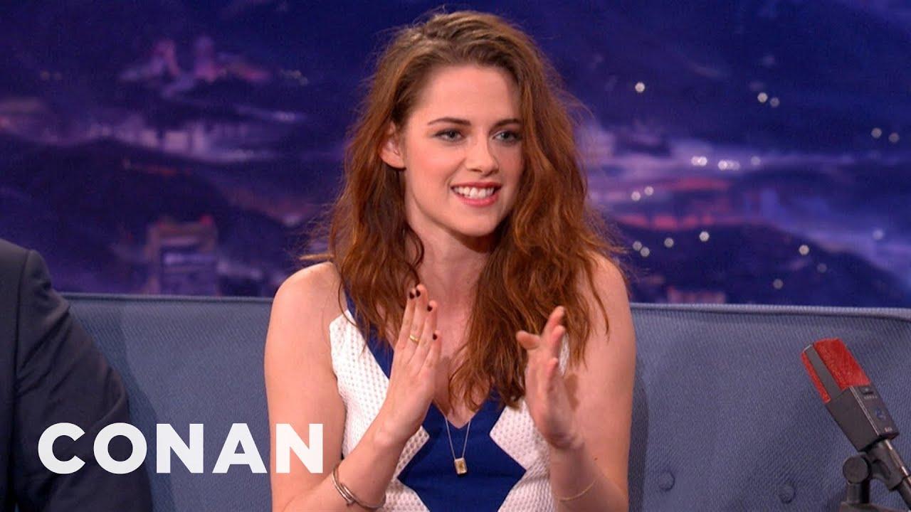 Kristen Stewart's Dad Loves Namedropping - CONAN on TBS