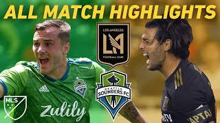 History is Made When LAFC Plays Seattle Sounders   All Match Highlights