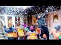 Snowstorm  magic prank at kindergarden!!! ❄️ - Julien Magic