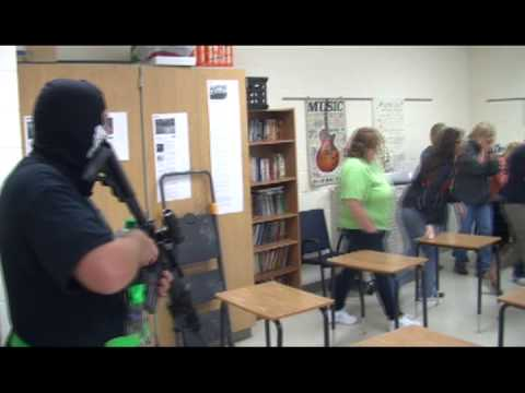 Active Shooter Drill at Owensville Middle School Sep. 24, 2013