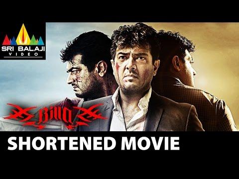 Ajith Billa Telugu Shortened Movie | Ajith Kumar, Nayanthara, Namitha | Sri Balaji Video
