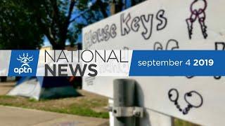 APTN National News September 4, 2019 – Lawsuit against Alberta, Winnipeg intersection shut down