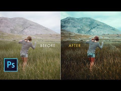 Photoshop Cc Tutorial: Photoshop Cinematic Effect | Camera RAW Filter