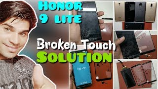 Huawei Honor 9 Lite Crack Glass Only Replacement-Teardown,Battery Replacement,Charging port Repair