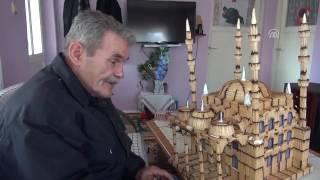 AYDIN'lı Hasan Efe Kibrit Çöplerinden 4 Minare