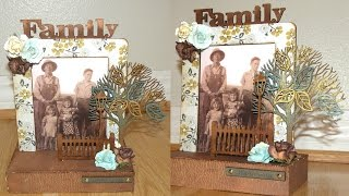Altered Photo Frame - Sacrafters