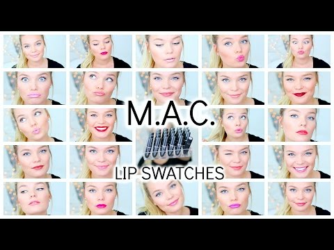 My MAC Lipstick Collection + Lip Swatches ♡