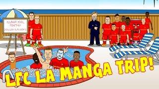 🌞LFC La Manga NIGHTS🌞 Grease Parody of Liverpool's trip to La Manga!