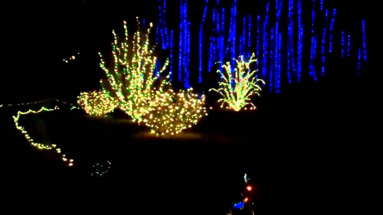 Dominion Garden of Lights Norfolk Botanical Garden - YouTube