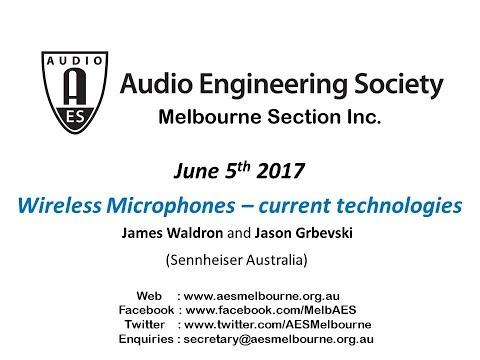 AES Melbourne Meeting - 5 June 2017