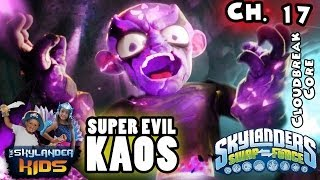 Let's Play Skylanders Swap Force: Super Evil Kaos Boss Battle - Cloudbreak Core - THE END (Ch. 17)