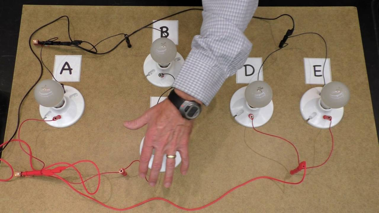 Resistor Demo Series And Parallel Youtube Science Circuits 4th Grade Circuit