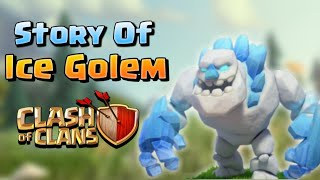 "STORY OF ""ICE GOLEM"" IN HINDI.CLASH OF CLANS"