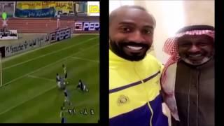 بالفيديو.. وليد عبد الله يبعث برسالةٍ لأسطورة النصر
