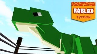 DINO TYCOON #01 = WILD LIFE IN ROBLOX