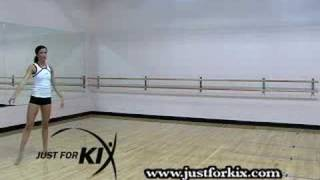 The Turning C Jump Tutorial and Demonstration from Just For kix