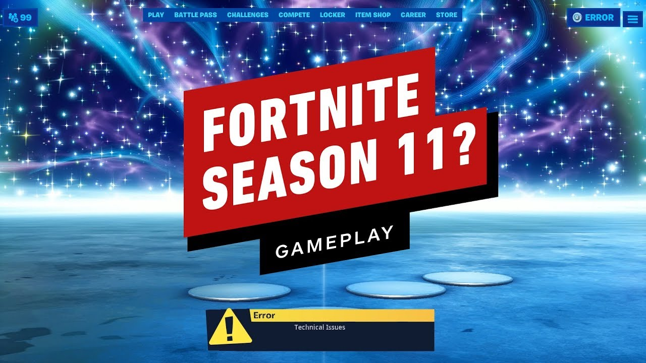 Fortnite Season 11: This is What Happens on Sign-In