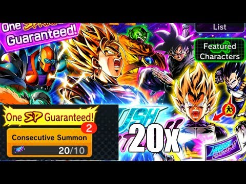 ** RUSH LIMITED!! 20x TICKETS GSP SUMMONS! * | ** DRAGON BALL LEGENDS DB LEGENDS **