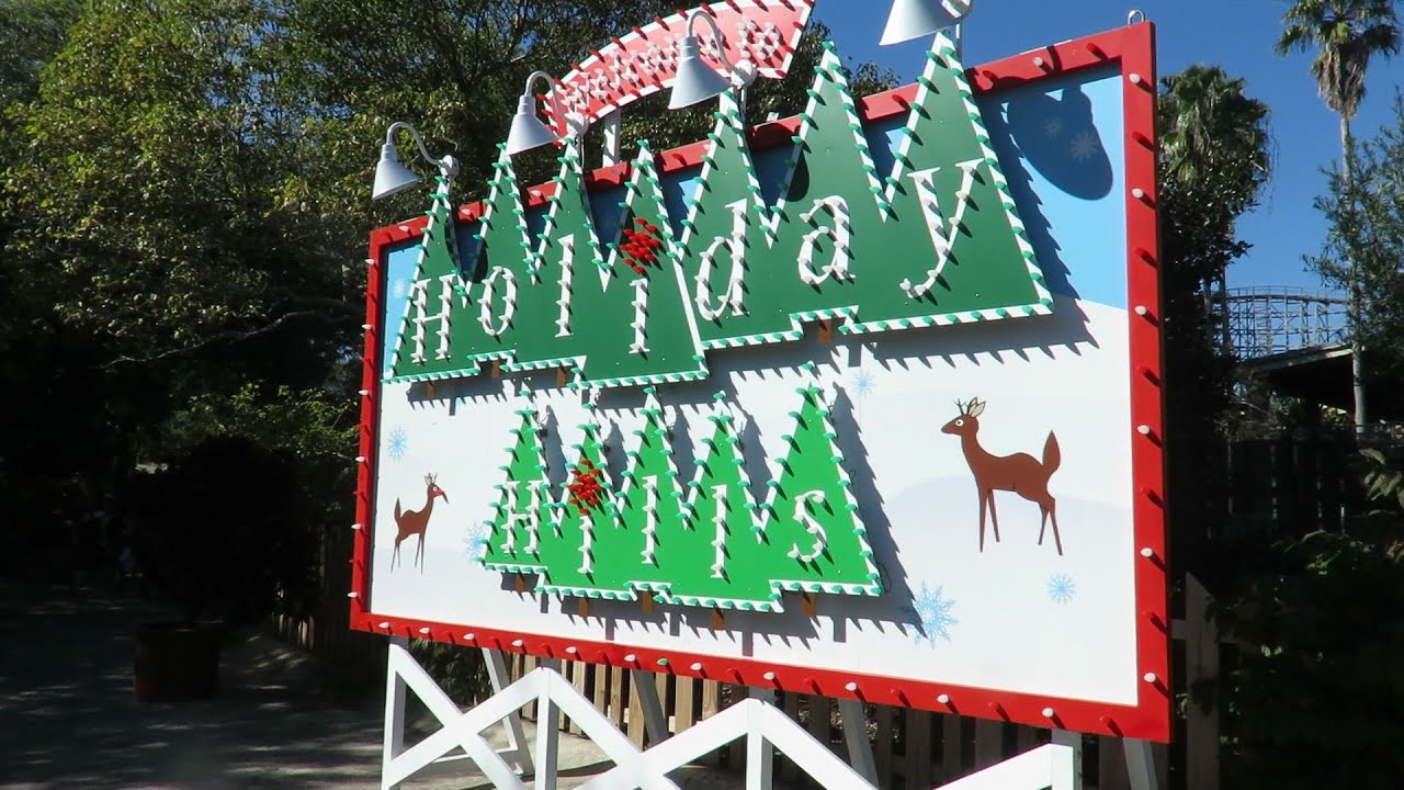 Christmas town at busch gardens tampa youtube - Busch gardens tampa christmas town ...