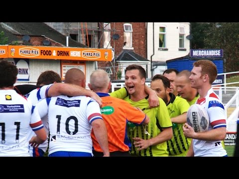SLTV: RFL referees take on Wakefield Chairman's select