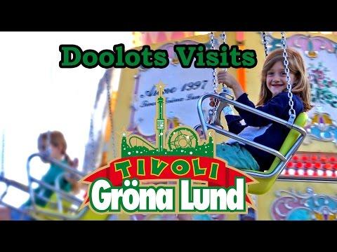 Gröna Lund, Theme Park, Stockholm - Visit and Tour