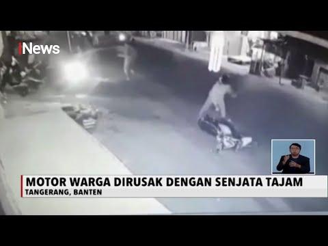 Aksi Sekelompok Pemuda Serang Warga Di Tangerang Dengan Senjata Tajam - INews Siang 12/08