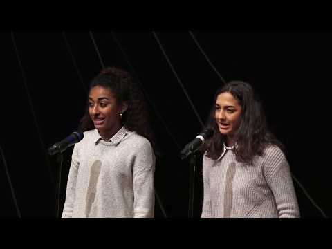 Things Not to Say to Someone of Mixed Race | Peri Patterson & Ayanna Bell | TEDxYouth@AnnArbor