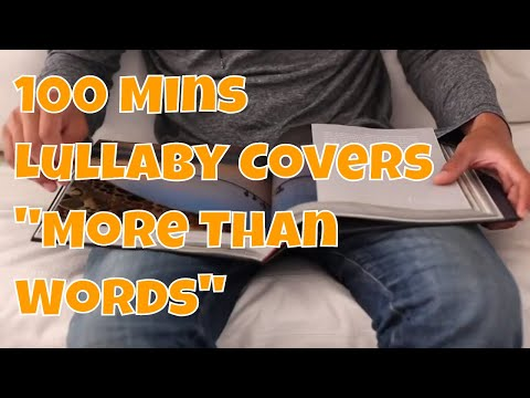 """RELAXING LULLABY COVERS FOR SLEEP w/ LYRICS 