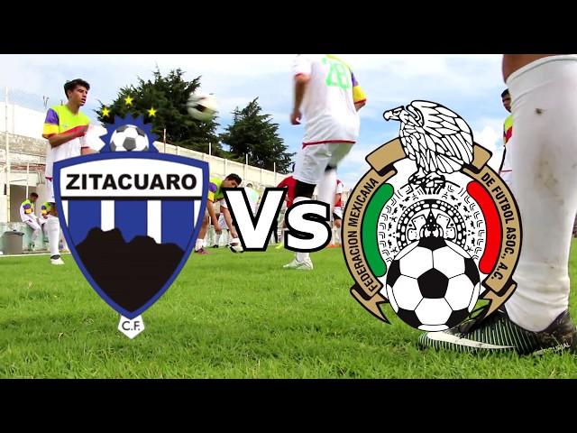 Deportivo #Zitácuaro Vs. Selección Mexicana Sub-20
