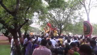 Madurai Chithirai Thiruvizha 2015 Kallalagar Ethirsevai