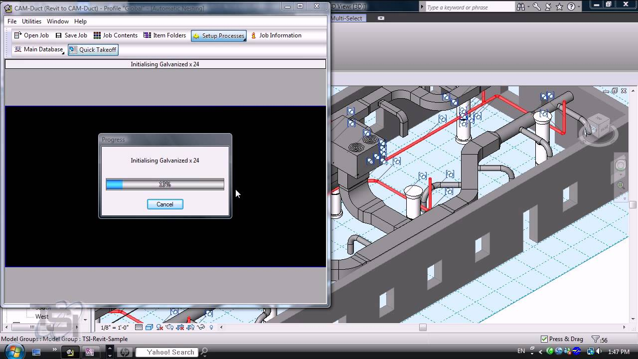AutoCAD Revit MEP 2010 API to Estimating and CAM