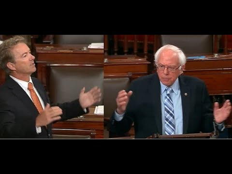 Rand Paul & Bernie Sanders Argue Over Trump's Helsinki Summit
