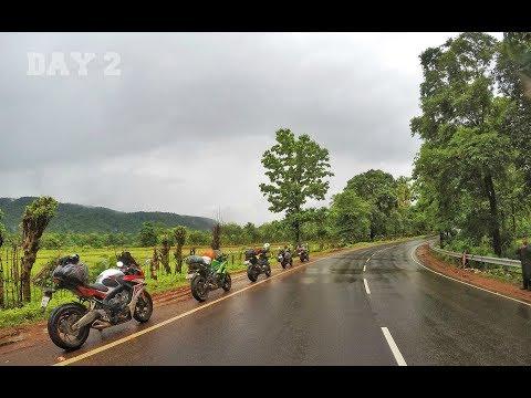 Pre Monsoon Ride - Day 2 - Chikmagalur to Dandeli | With CBR 650F, Z800, Dominar & Ninja 650