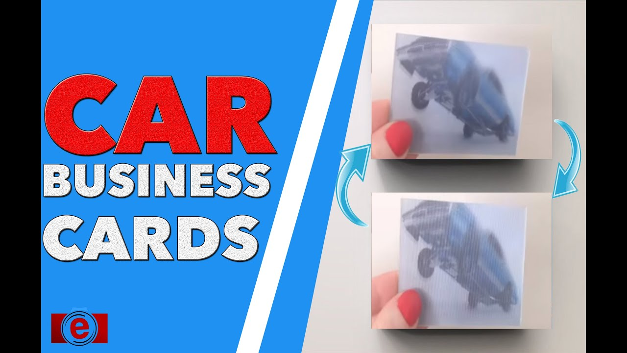 Animation Business Card - YouTube