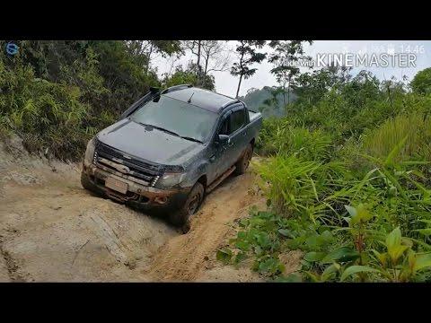 New ford ranger t6 ลุยเขาปลาน้อย จ. กาญจนบุรี