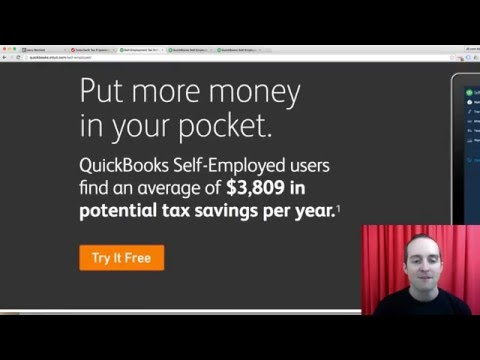 Quickbooks Self Employed Review And Tutorial