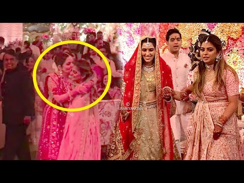 Full Inside Video Of Mukesh Ambani's Son Akash Ambani WEDS Shloka Mehta