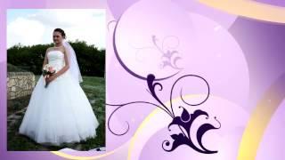 Пример фото-презентации фотографий невесты в стиле