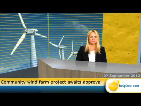 Community wind farm project awaits approval