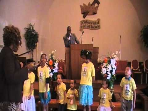 Beth Judah Ministries COGIC Sunday School Review and Jesus Loves The Little Children song