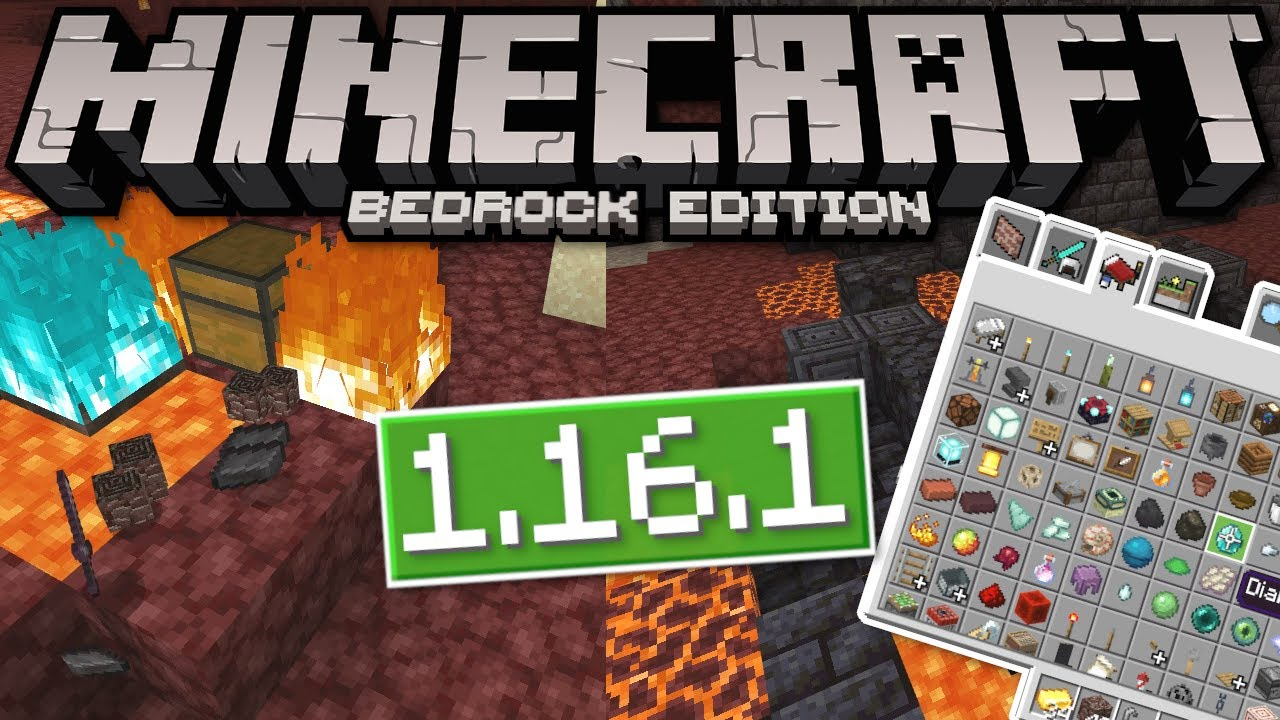 Download Minecraft Pocket Edition 1 16 1 Nether Update Full Version