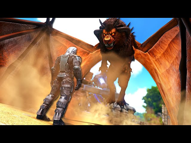 POWERING UP our MANTICORE to the NEXT LEVEL!   ARK O-MEGA Modded #65